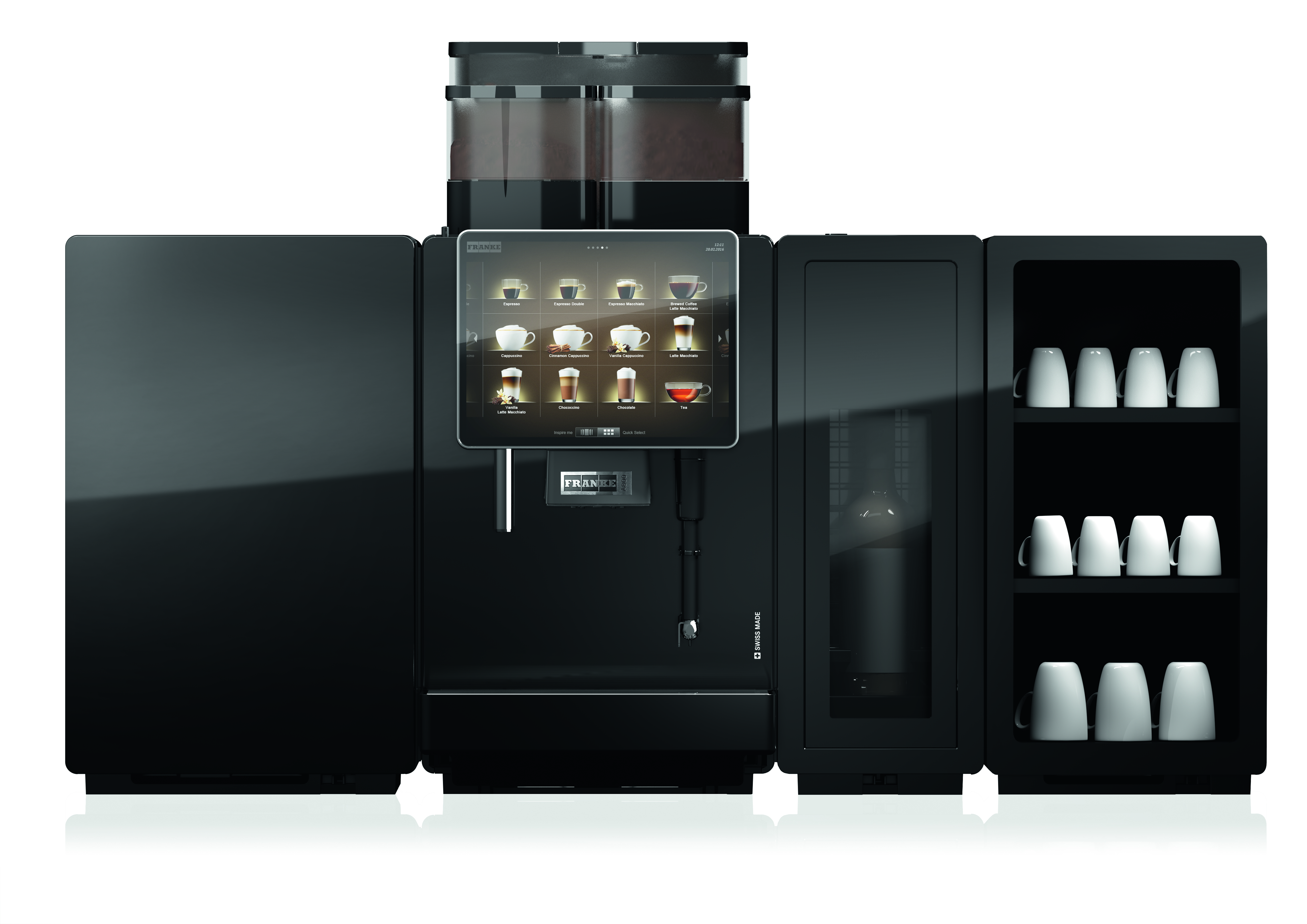franke a800 volautomaat koffiemachine voor de perfecte kop koffie. Black Bedroom Furniture Sets. Home Design Ideas